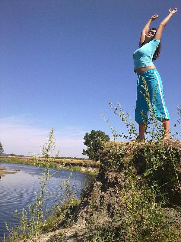 Высокий берег реки Псёл