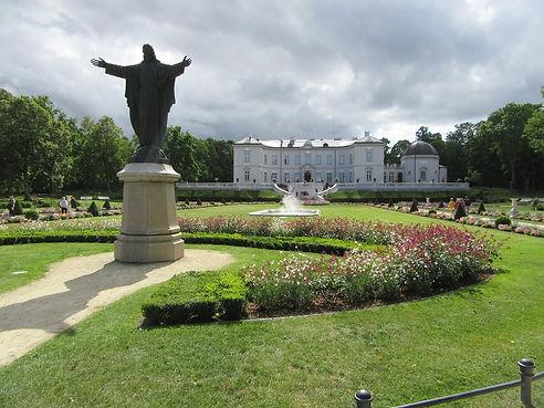 Статуя Благословение Христа в Паланге