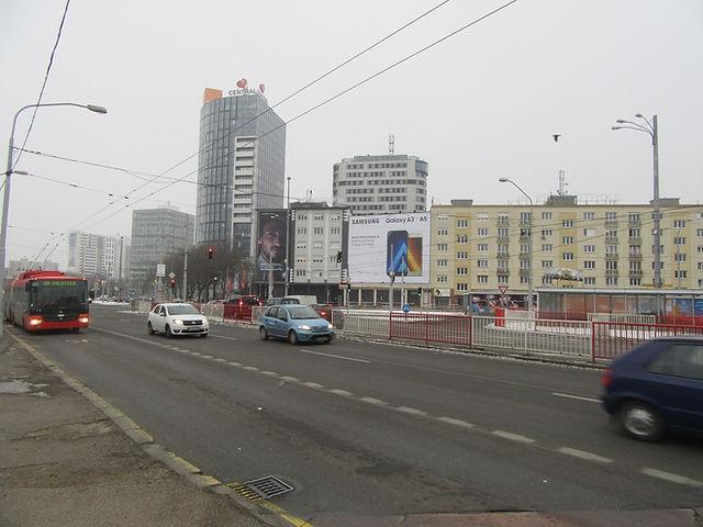 Проспект в Братиславе