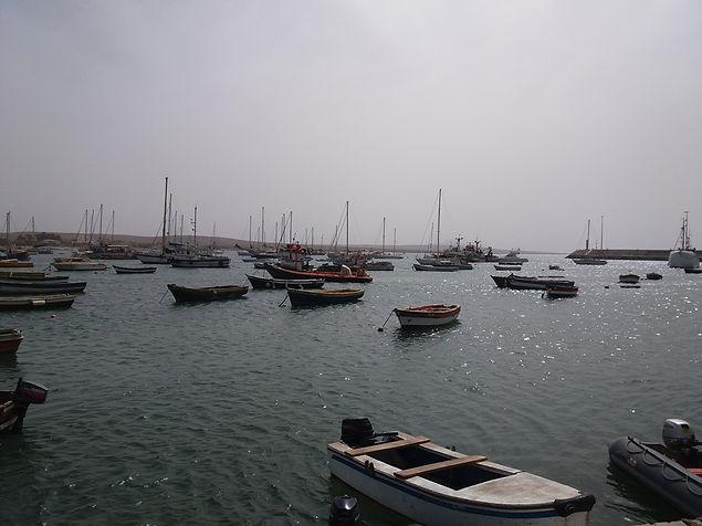 Вид на бухту Палмейра, остров Сал, Кабо-Верде