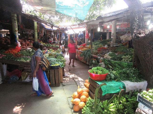 Рынок города Тангалле