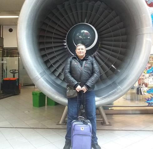 Турбина в аэропорту Амстердама