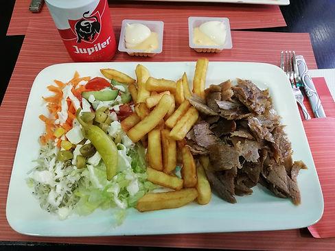 Кебаб в Mevan Kebab Grill
