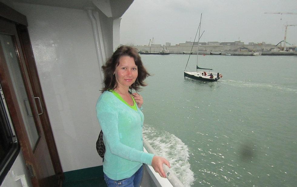 Плывем из Каваллино-Трепорти в Венецию