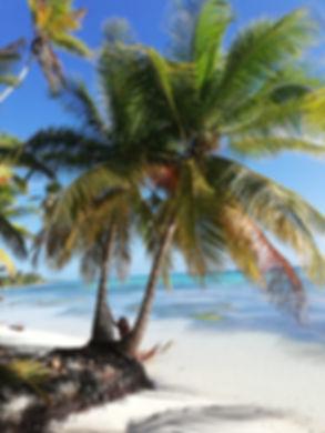 На райском пляже Саоны
