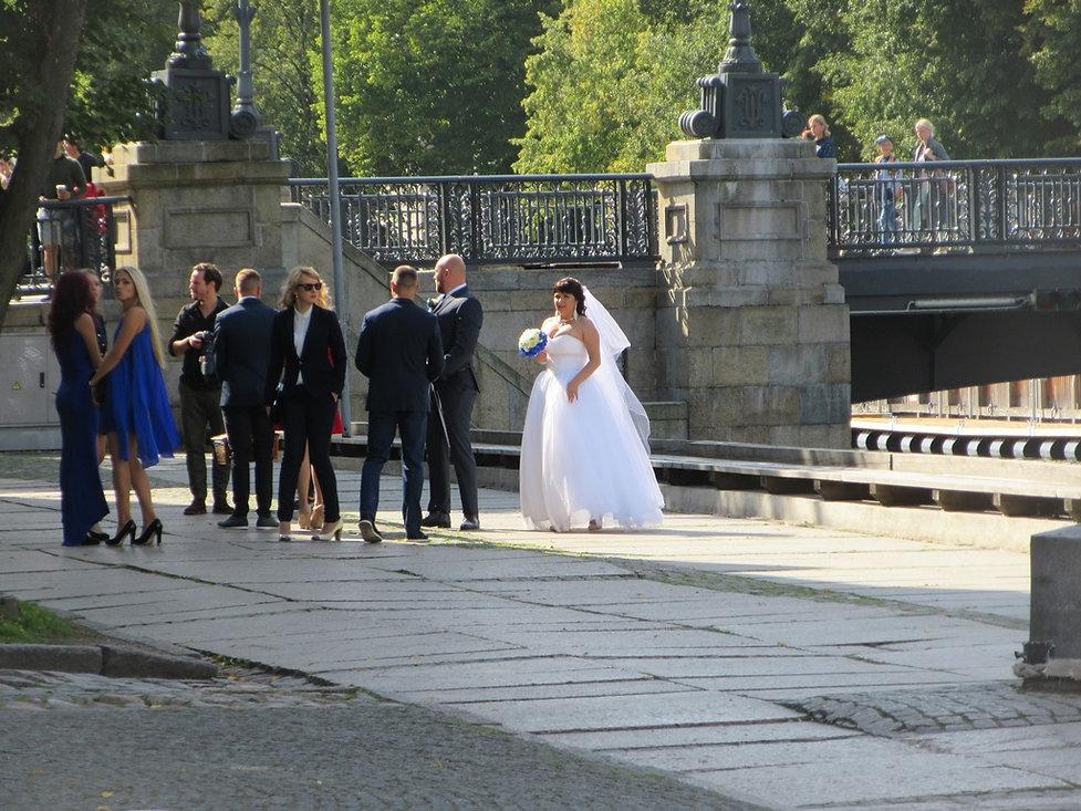Свадьба в Клайпеде