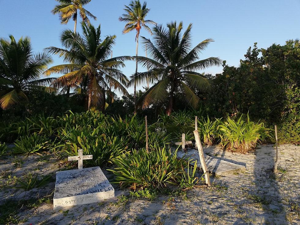 Островное карибское кладбище