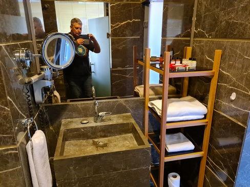 Ванная в отеле Thor