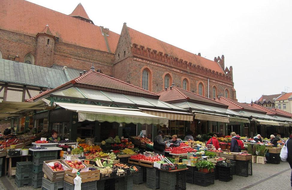 Гданьск, рынок