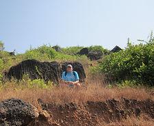 Возле форта в Чапоре