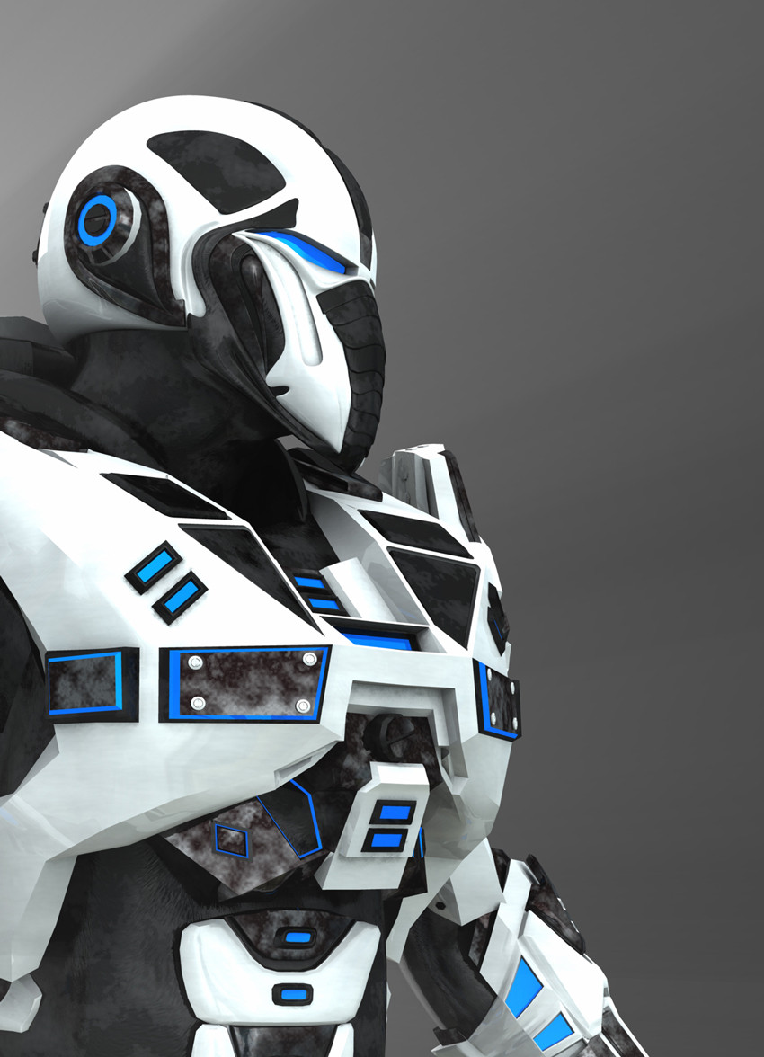 Robot soldato