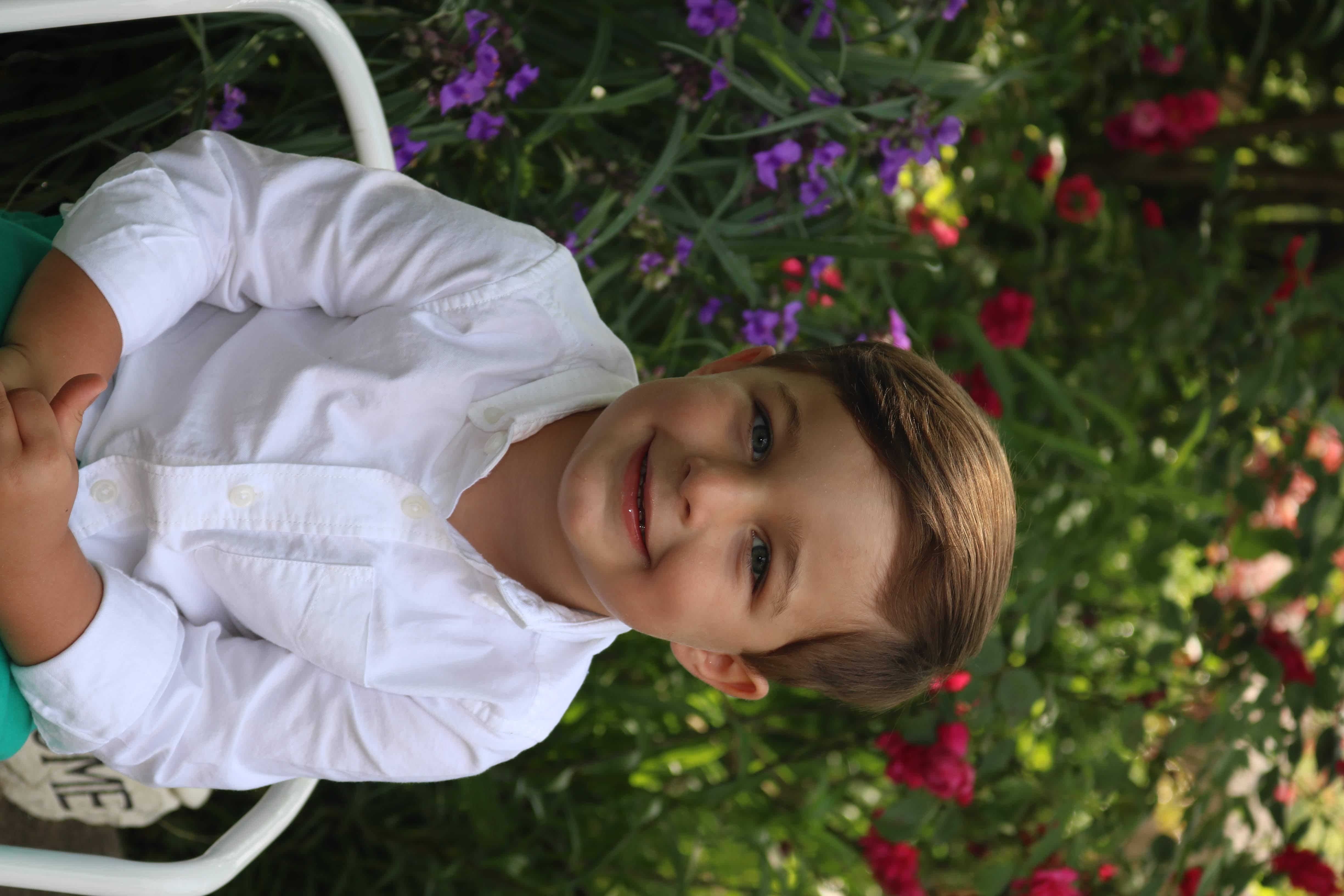 Boy white shirt 3