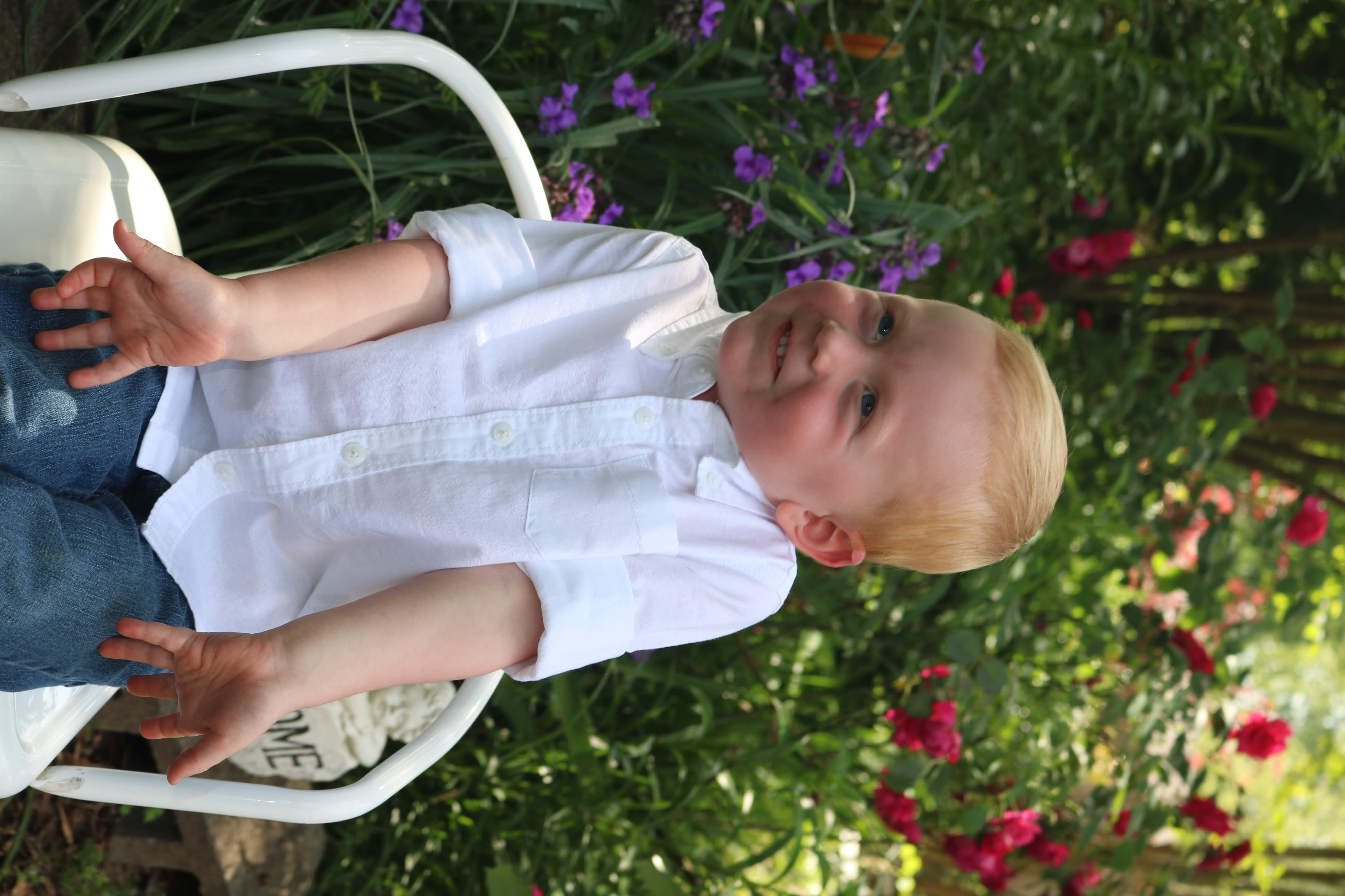 Boy white shirt 2