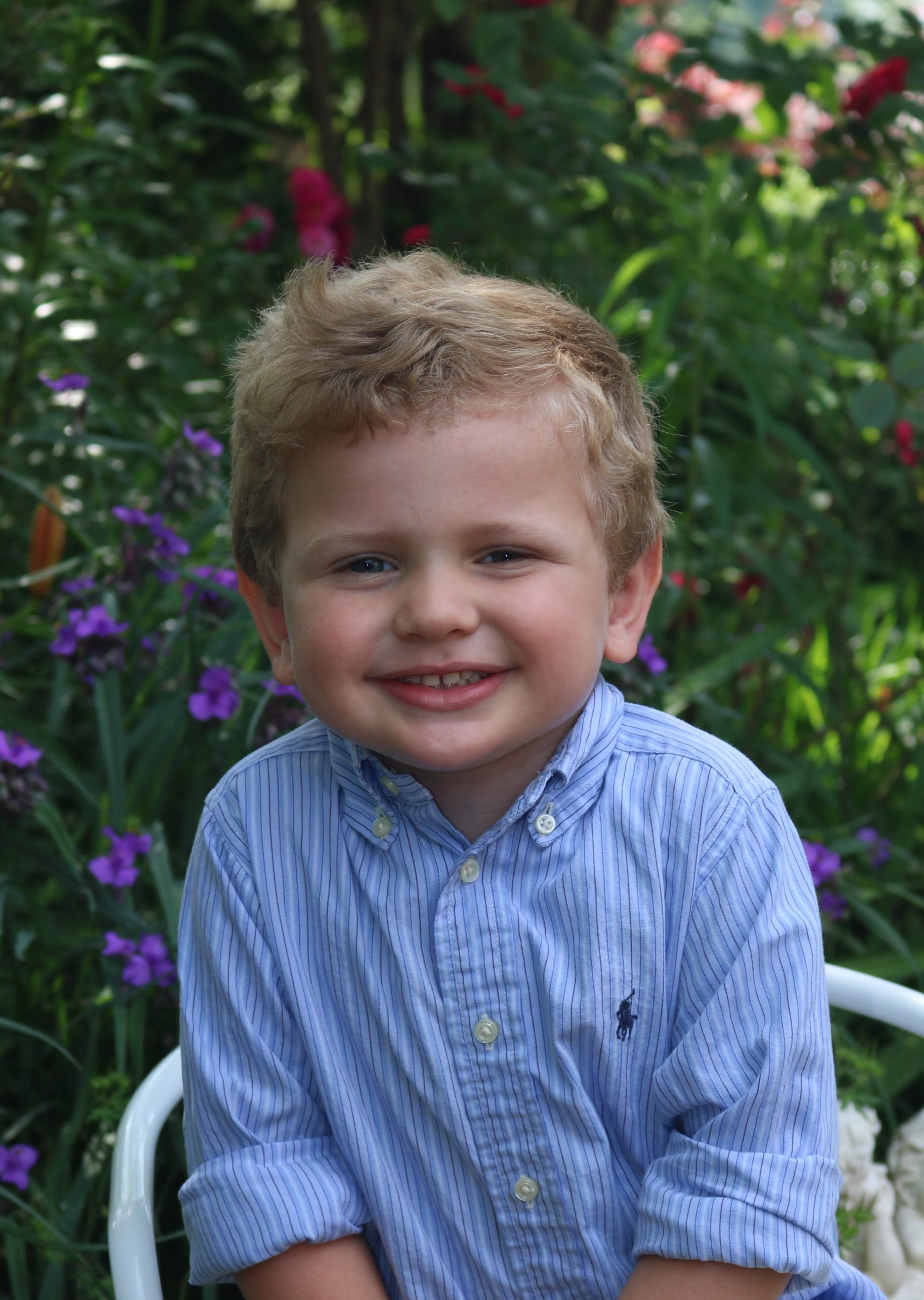 Boy blue shirt 3