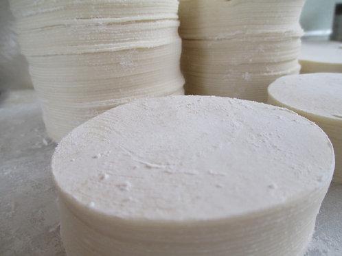 喜多方もっちり餃子の皮(超大 95mm) 800枚 いっぱいでできます。