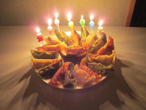 バースデー3色餃子48 サプライズにぴったり