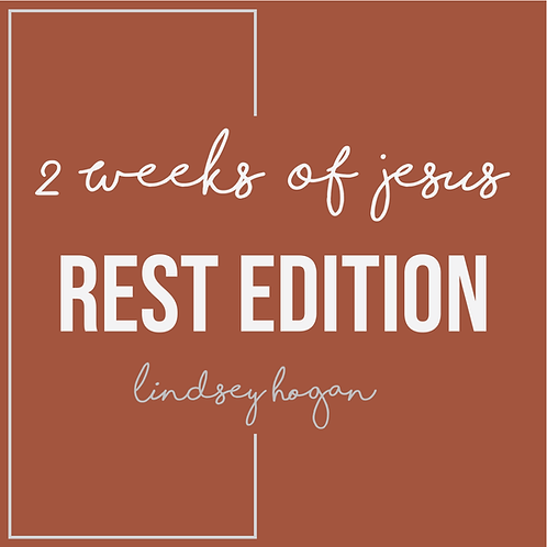 2 Weeks Of Rest