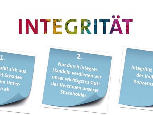 INTEGRITÄT – Was ist das eigentlich?