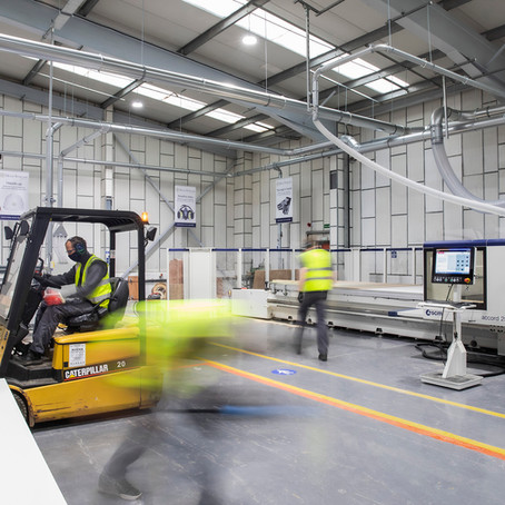 Hugh Stirling expansion see move to new 17,000 sq ft office and manufacturing facilities.