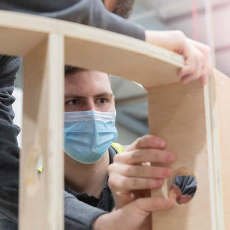 Hugh Stirling appointed to NHS Builders work framework.