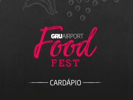 Festival Gastronômico no GRU Airport
