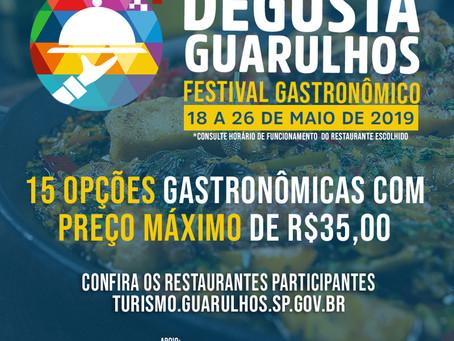 Vem aí: Degusta Guarulhos, festival gastronômico