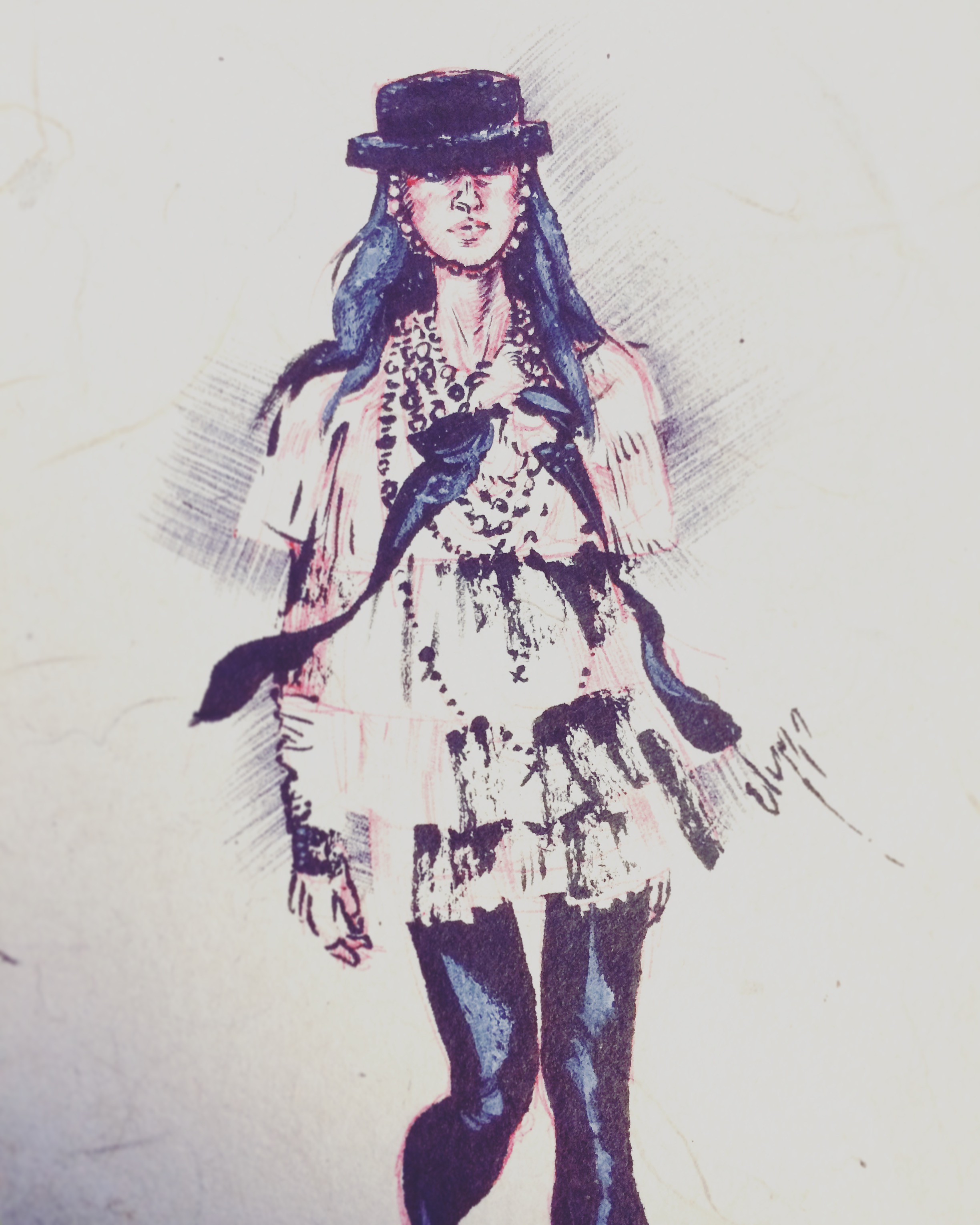 A Fashion Girl