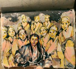 Buddhist nun & Ling