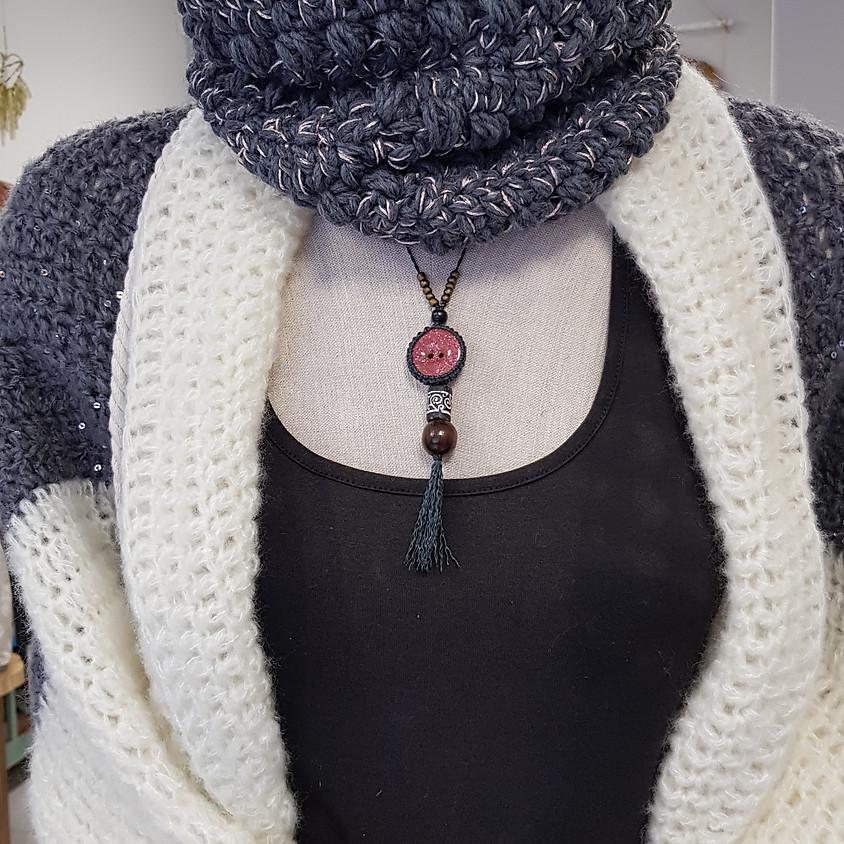 Atelier crochet : le snood