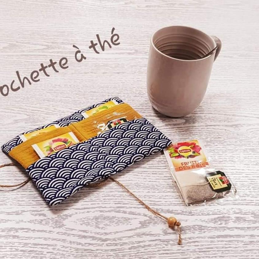 """Atelier couture : la pochette """"nomade"""" à thé"""