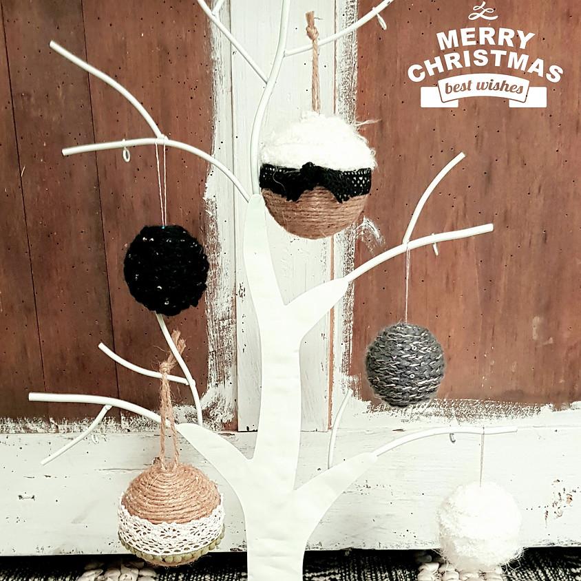 Atelier enfant Boules de Noël