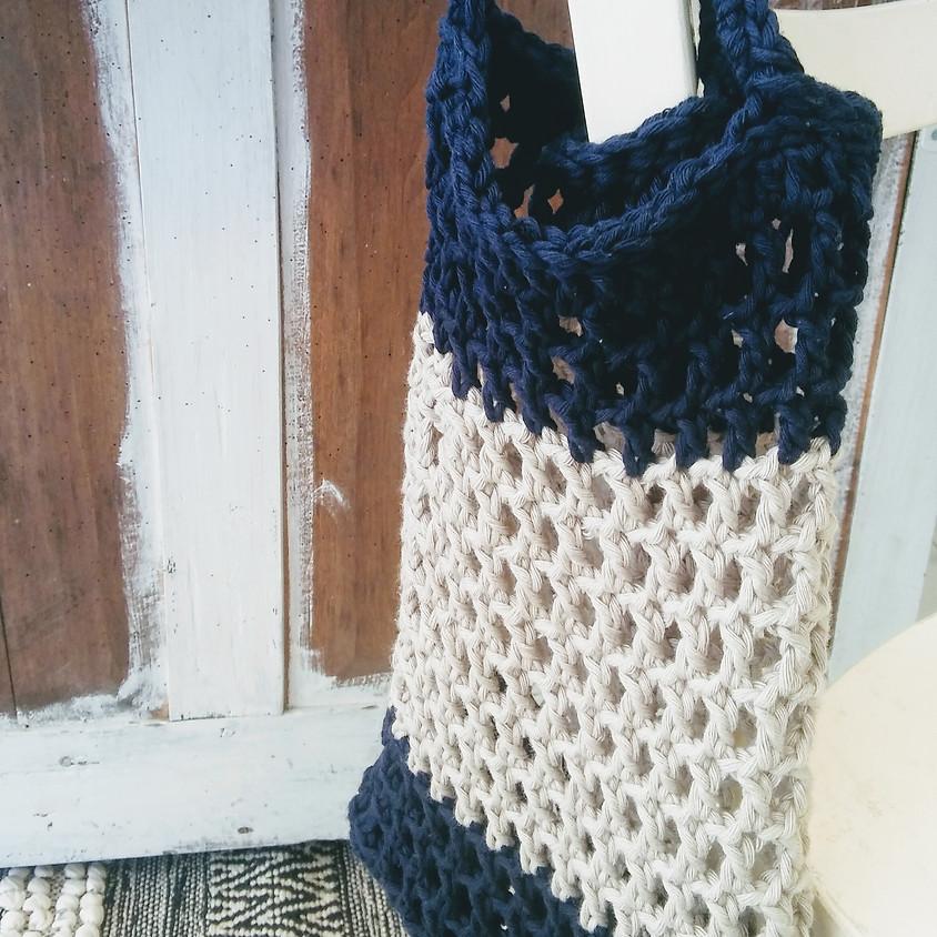 Atelier Crochet : Le sac Filet