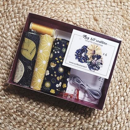 Kit couture - les chouchous - bleu jaune