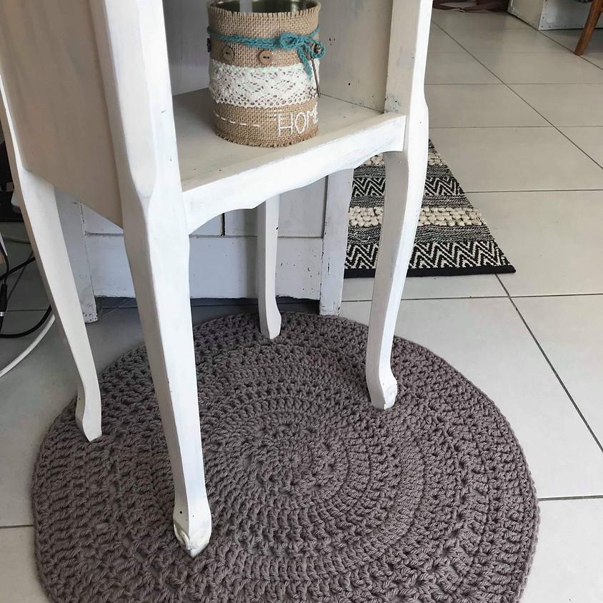 Atelier Crochet : Le tapis Bohème