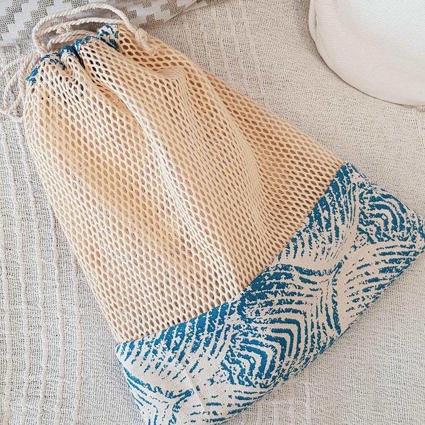 Atelier couture débutant : le sac à vrac