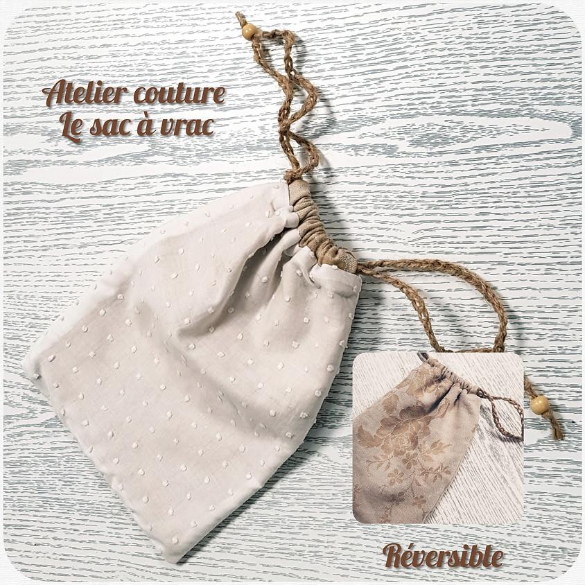 Atelier couture : le sac à vrac Réversible