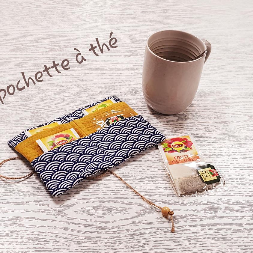 Atelier couture : la pochette à thé