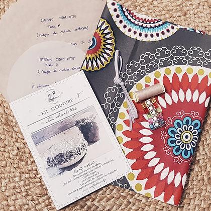Kit couture - les charlottes - Aztèque