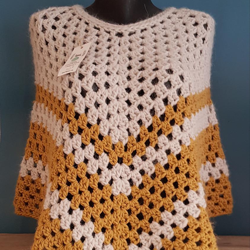 Atelier crochet : le poncho