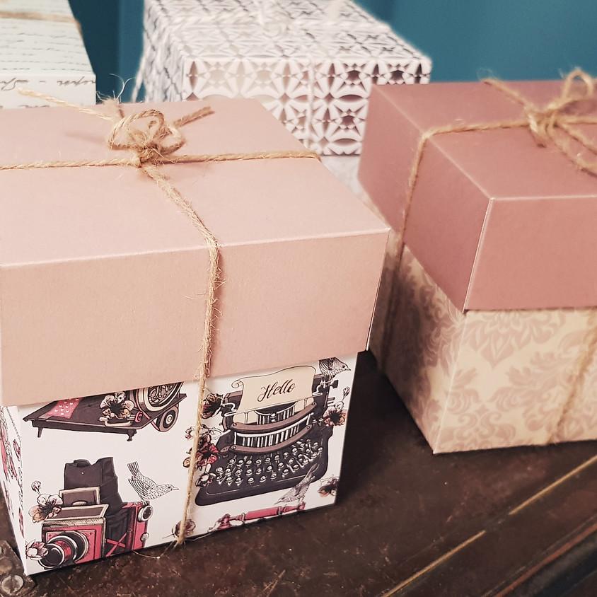 Atelier emballage cadeaux