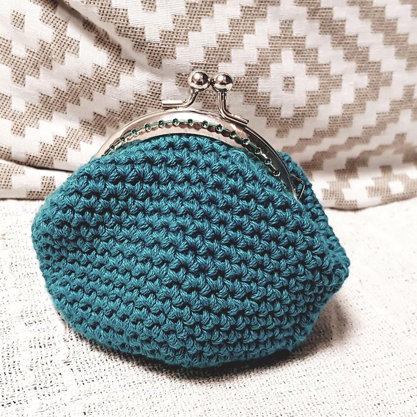 Atelier crochet : le porte monnaie vintage