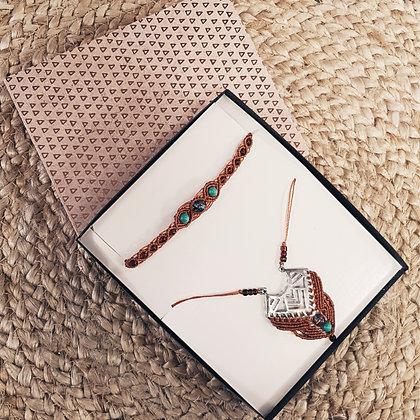 Coffret cadeaux bijoux ethnique - kamel