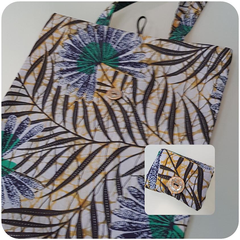 Atelier couture : le tote bag pliable