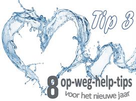 TIP 3: Drink NIET te veel water ...