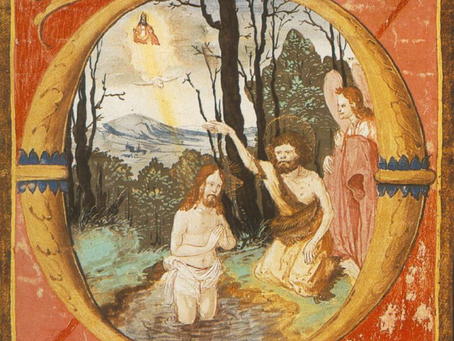 First Sunday after the Epiphany.          The Baptism of our Lord.