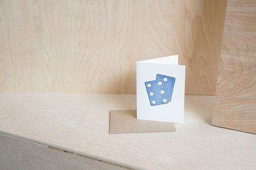 Greeting Card: Playing Cards