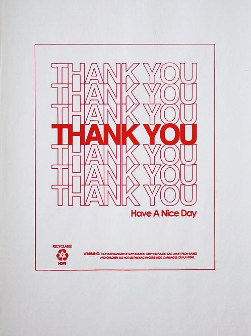 """Thank You"" Print"