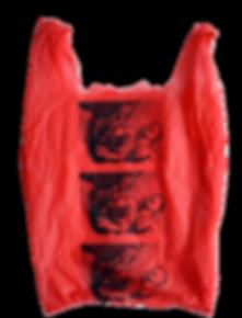 Print, red, bag, garett nelson