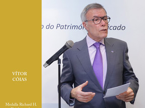 ENG VITOR CÓIAS GANHA MEDALHA RICHARD H. DRIEHAUS PARA A PRESERVAÇÃO DO PATRIMÓNIO