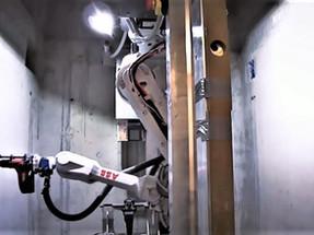 ROBOT DA SCHINDLER INSTALA ELEVADORES